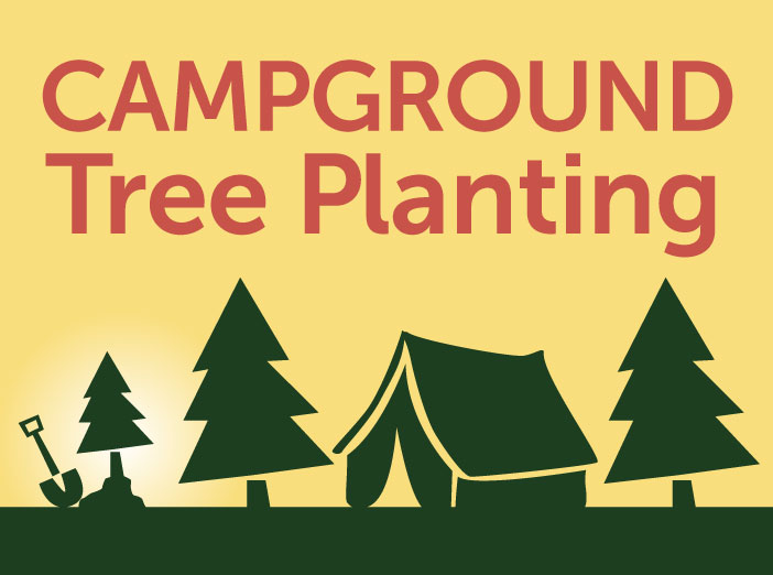 Campground Tree Planting