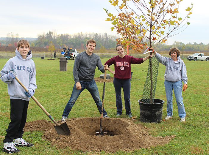 Campground Tree Planting