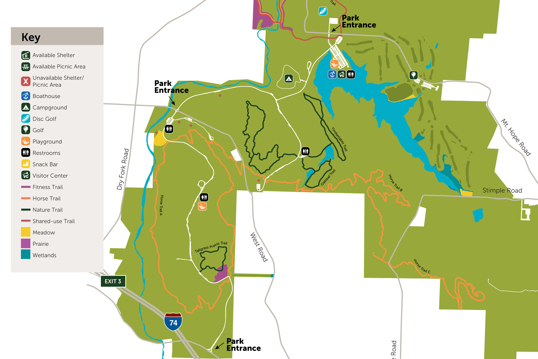 Great Parks Maps